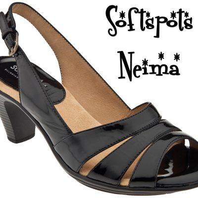 Softspots Neima Comfortable Slingback Heels