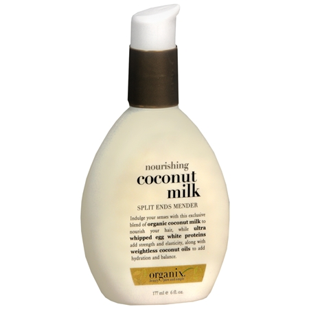 A Beach Bag Basic, Organix Nourishing Coconut Milk Split End Mender
