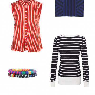 Striped Clothing Trending this Spring!