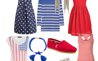 Celebrate the 4th with Your Red, White and Blue