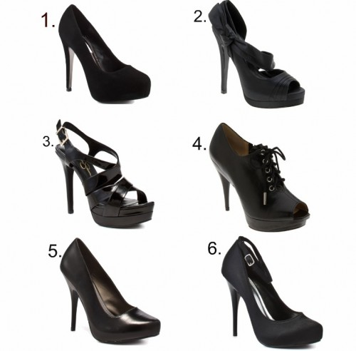 Simple Black Heels | Tsaa Heel