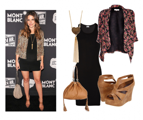 Get The Look For Less Sophia Bush The Fashionable Housewife