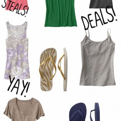 Summer Staples Under $10 from Old Navy