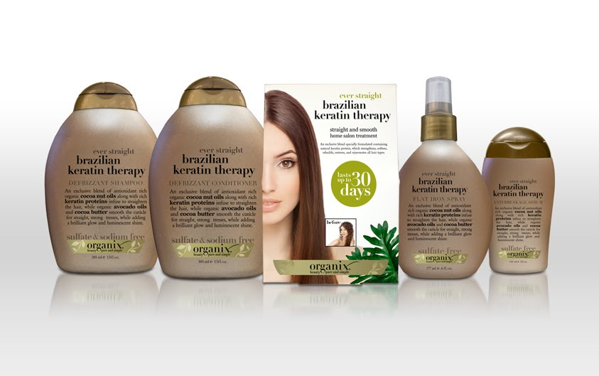 Organix Brazilian Keratin Therapy 30-Day Hair Smoothing Treatment