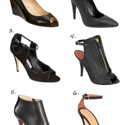 The Return of the Simple Black Heel