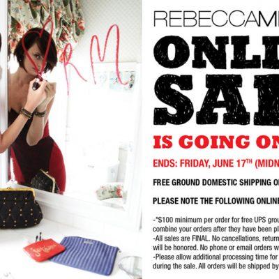 Rebecca Minkoff OnLine Sale