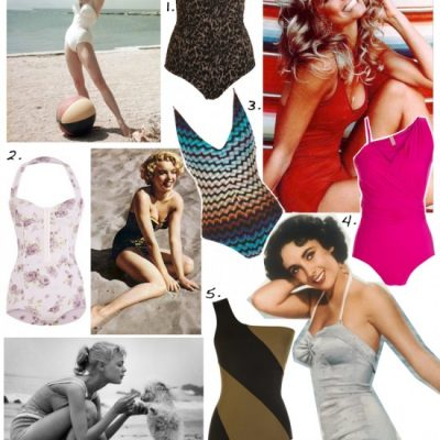 Super Stylish One Piece Swimsuits for Summer 2011