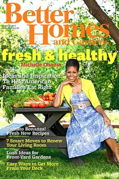 The First Lady Sports Talbots in the New Issue of Better Homes and Gardens