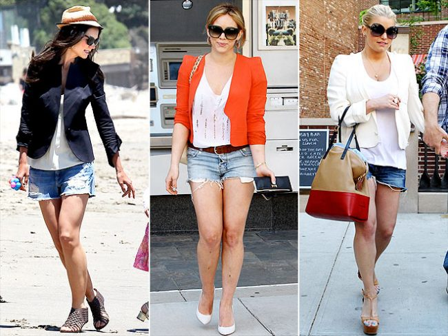 Latest Trend: Blazers and Shorts… Together