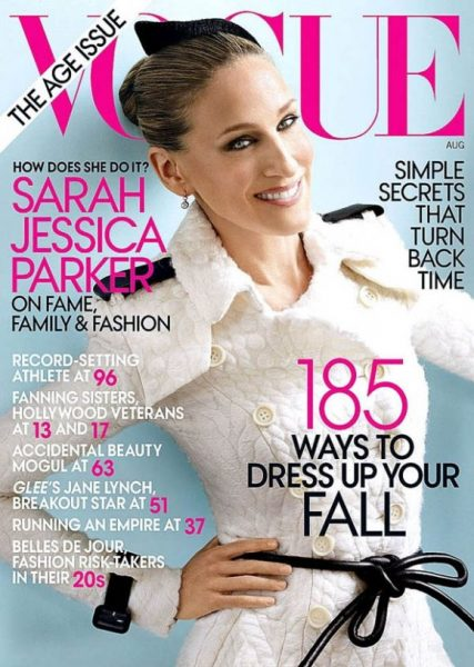 Sarah Jessica Parker Graces VOGUE Cover