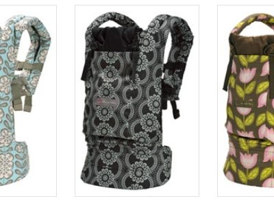 Fashionable Baby Carrier – Ergo & Petunia Pickle Bottom Unite!