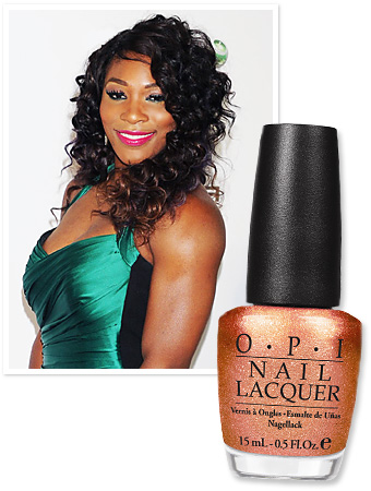 Serena Williams' New Polish Shades for OPI