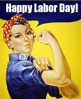 rosie the riveter labor day