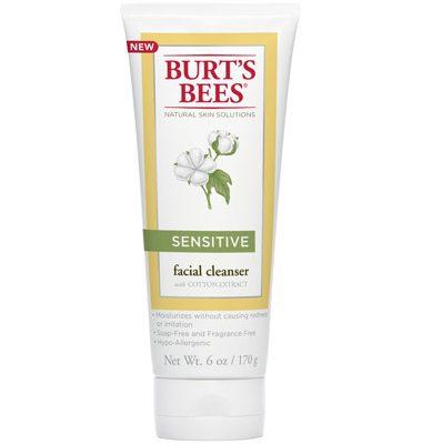 Burt's Bees New Sensitive Skin Line