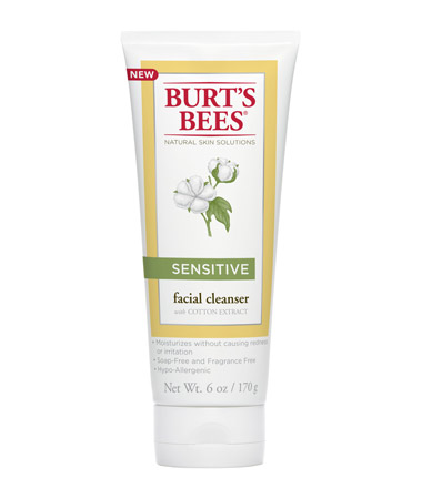 Burt's Bees New Sensitive Skin Line