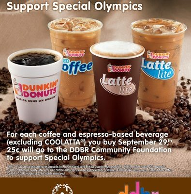 MA and RI, National Coffee Day at Dunkin' Donuts