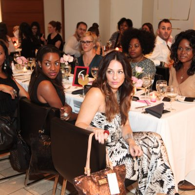 The Fashionable Housewife at the Glam Media Dinner