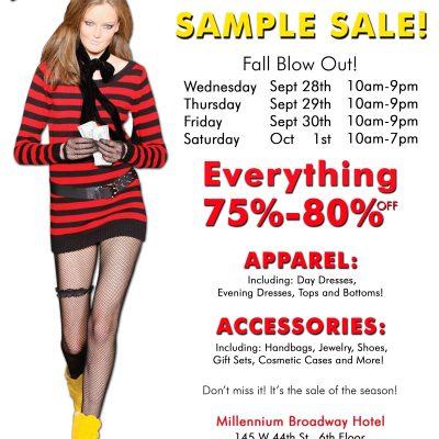 Betsey Johnson Sample Sale Starts 9/28!