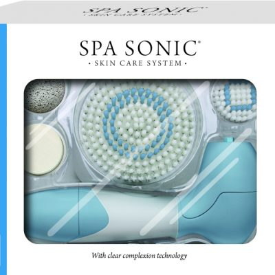 Spa Sonic Skin Care System Face & Body Polisher