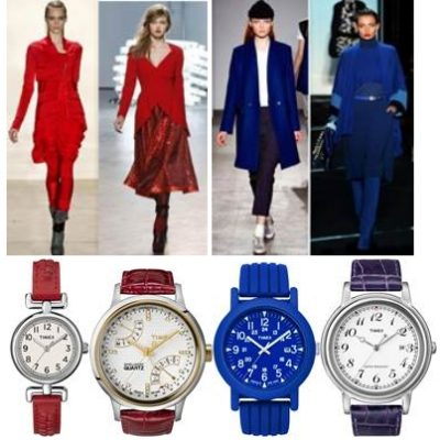 Fall 2011 Jewel Tone Trend with TIMEX