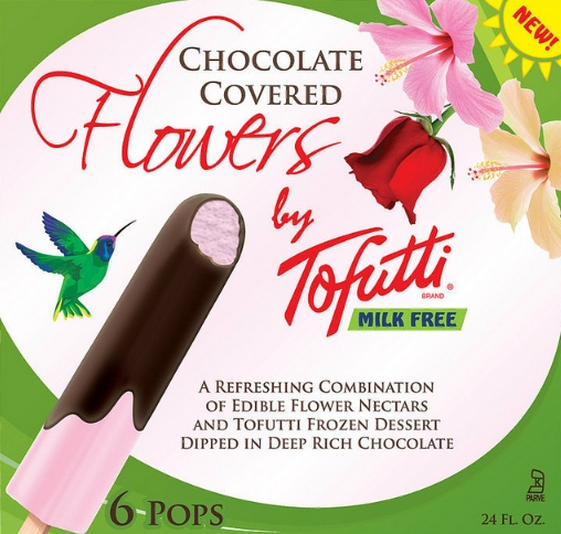Toffuti Flowers Exotic Dairy Free Popsicles