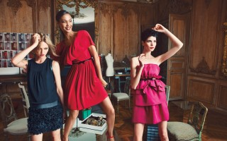 Giambattista Valli for Impulse only at Macy's Black Dress $139 Red Dress $99 Pink Dress $139