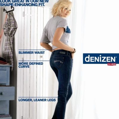 Totally Shaping dENiZEN Jeans with Tummy Control Panel
