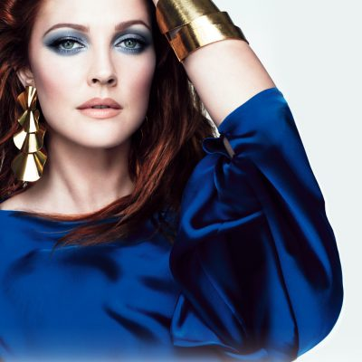 Get the Look: Drew Barrymore for CoverGirl 'Smokey Eye'