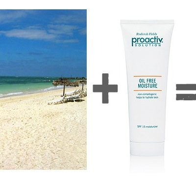 Proactiv® Oil Free Moisturizer, an Unlikely Cruise Companion