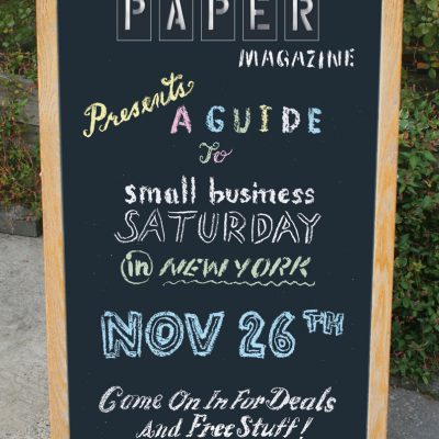 Shop Small for the Holidays with Small Business Saturday!