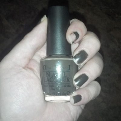 "OPI Touring America ""Get In The Expresso Lane"" Nail Polish"