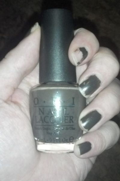 """OPI Touring America """"Get In The Expresso Lane"""" Nail Polish"""