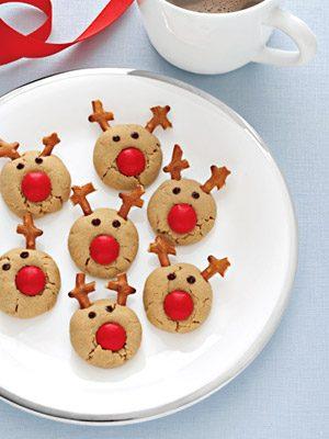 Easy Bake Reindeer Cookies