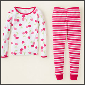 Last-Minute Christmas: Pajamas from The Children's Place