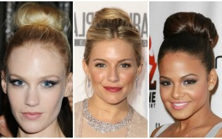 Get the High Bun Hairstyles just like Celebs Love!