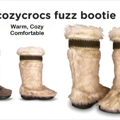Warm Up To Crocs Cozycrocs Fuzz Bootie This Winter