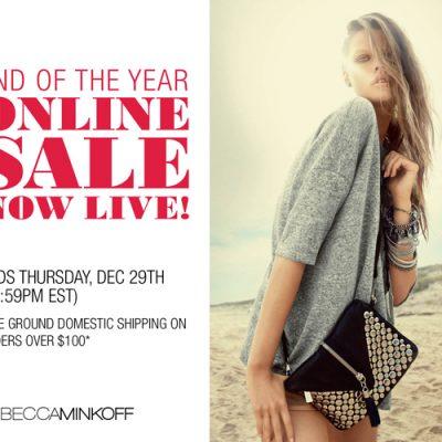 Rebecca Minkoff Sale Starts Today