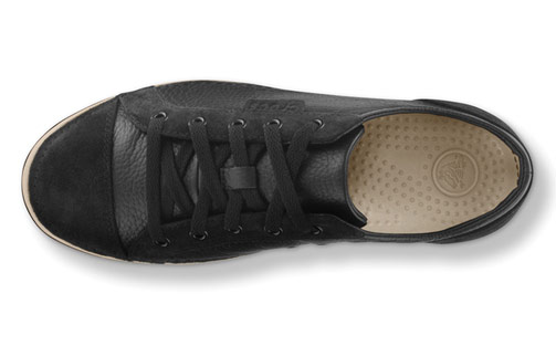 73da1bf62 Crocs Hover Lace-up Comfortable Leather Sneakers Shoes Review - The ...