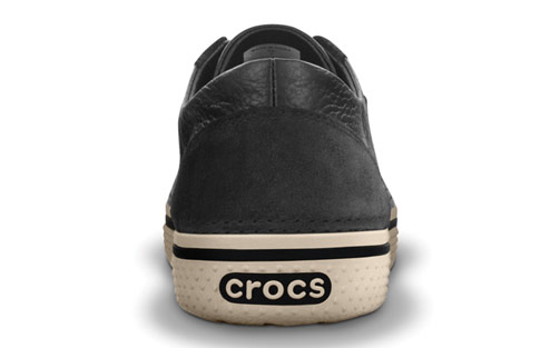 59ceb7544 Crocs Hover Lace Up Leather Comfortable Shoes are a Crocs sneaker   shoe  hybrid that is as light as your favorite flip flops