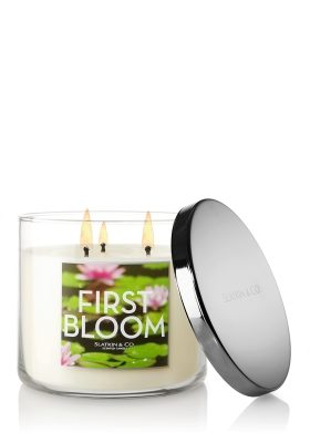 Floral Candles from Slatkin & Co. Help Set the Mood this Valentine's Day