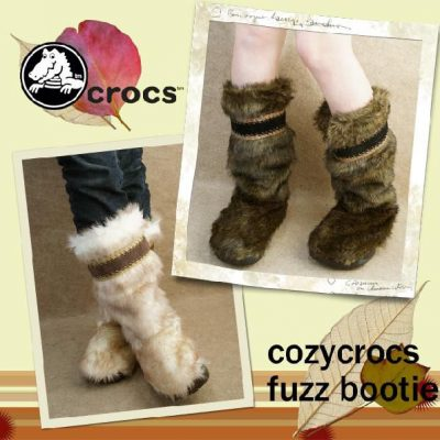 Fuzzy Boots: Crocs CozyCrocs Fuzz Booties