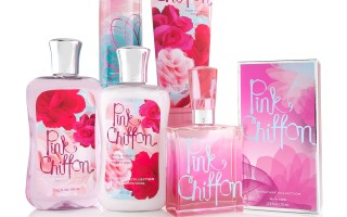 Pink Chiffon Bath and Body Works