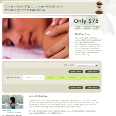 Great Deals on Spa Services at Spadia.com