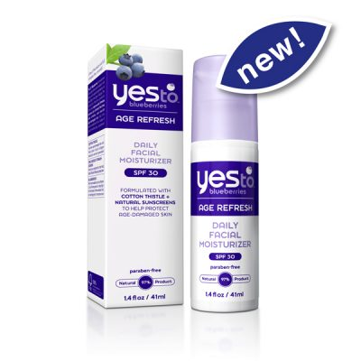 Product Review: Yes to Blueberries Daily Repairing Moisturizer with SPF 30