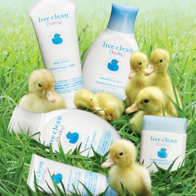Live Clean Baby Eco Friendly Bath & Body Products