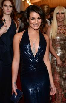 Get the Look: Lea Michele at the 2012 Met Ball
