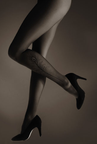 Trend Alert: Tattoo Nylons Tights