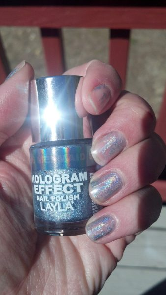 Nails: Layla Hologram Effect 'Mermaid Spell' Nail Polish