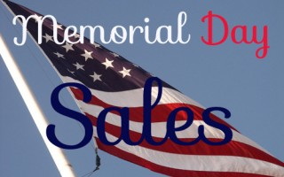 memorial day weekend sale banner