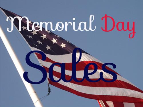 BEST Memorial Day Weekend Sales & Coupon Codes!